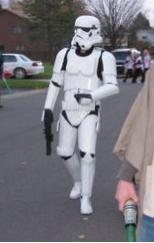 Adult storm trooper Costume
