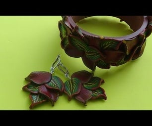 Bracelet and Earrings Inspiration Part 2. Polymer Clay Tutorial