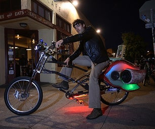 The Choprical Fish: a Human Powered Party Bike