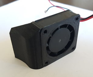 Axial Cooling Fan for 3D PRINTING