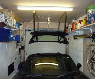 Mazda MX-5 (Miata) Hardtop Hoist & Storage