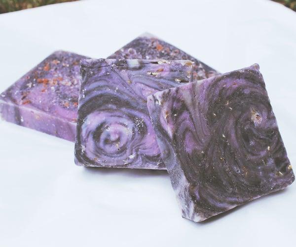 Easy Galaxy Swirl Cold Process Soap Recipe