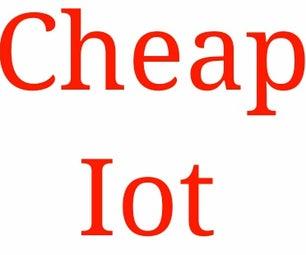 Cheap Iot Using Arduino
