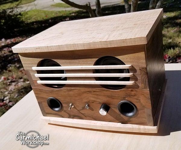 DIY Wood Bluetooth Speaker