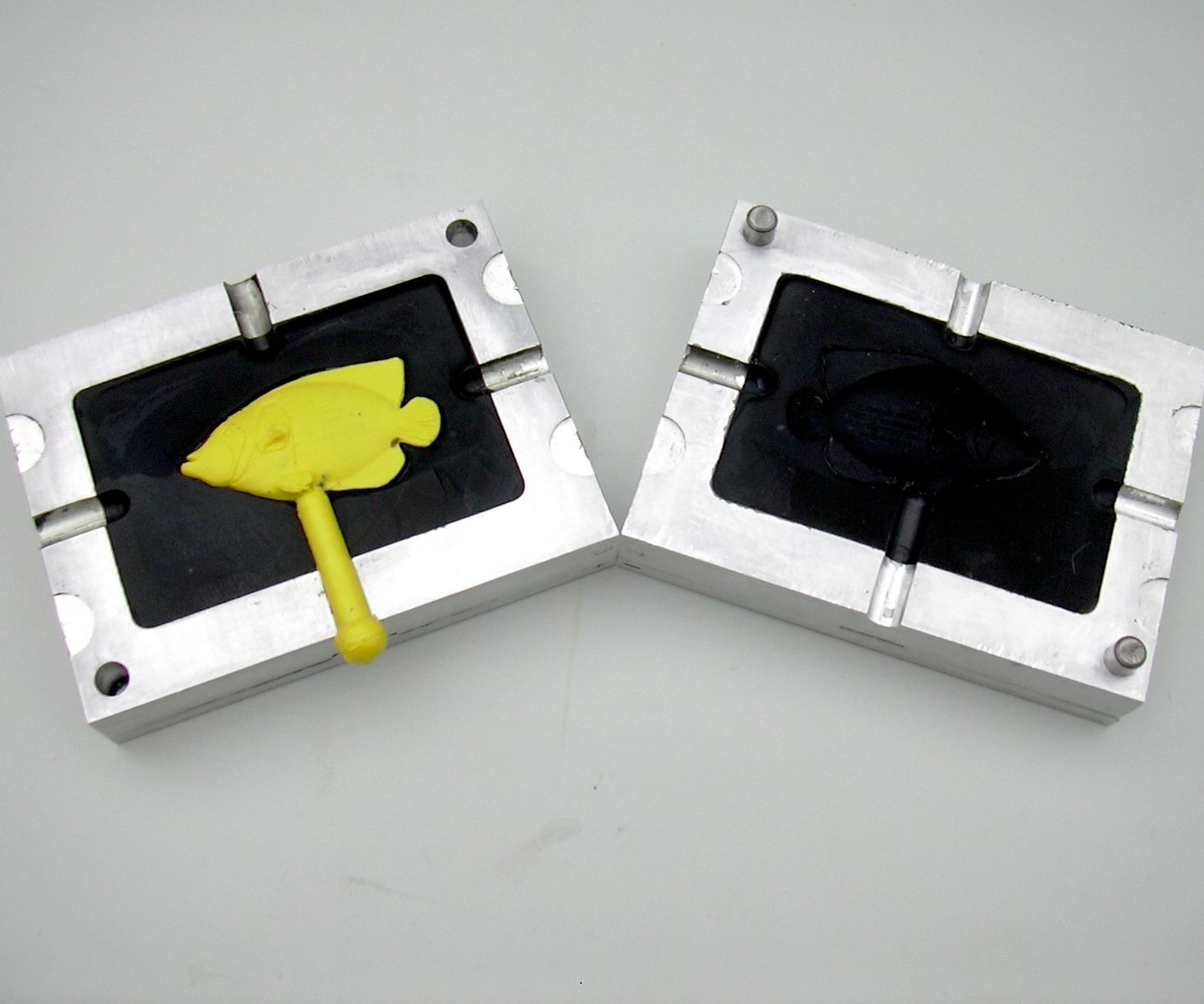 Home Plastic Injection Molding with an Epoxy Mold.