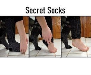 Secret Socks (Never Be Without Socks Again!)