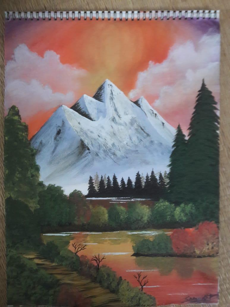 Landscape Painting With Acrylics for Beginners