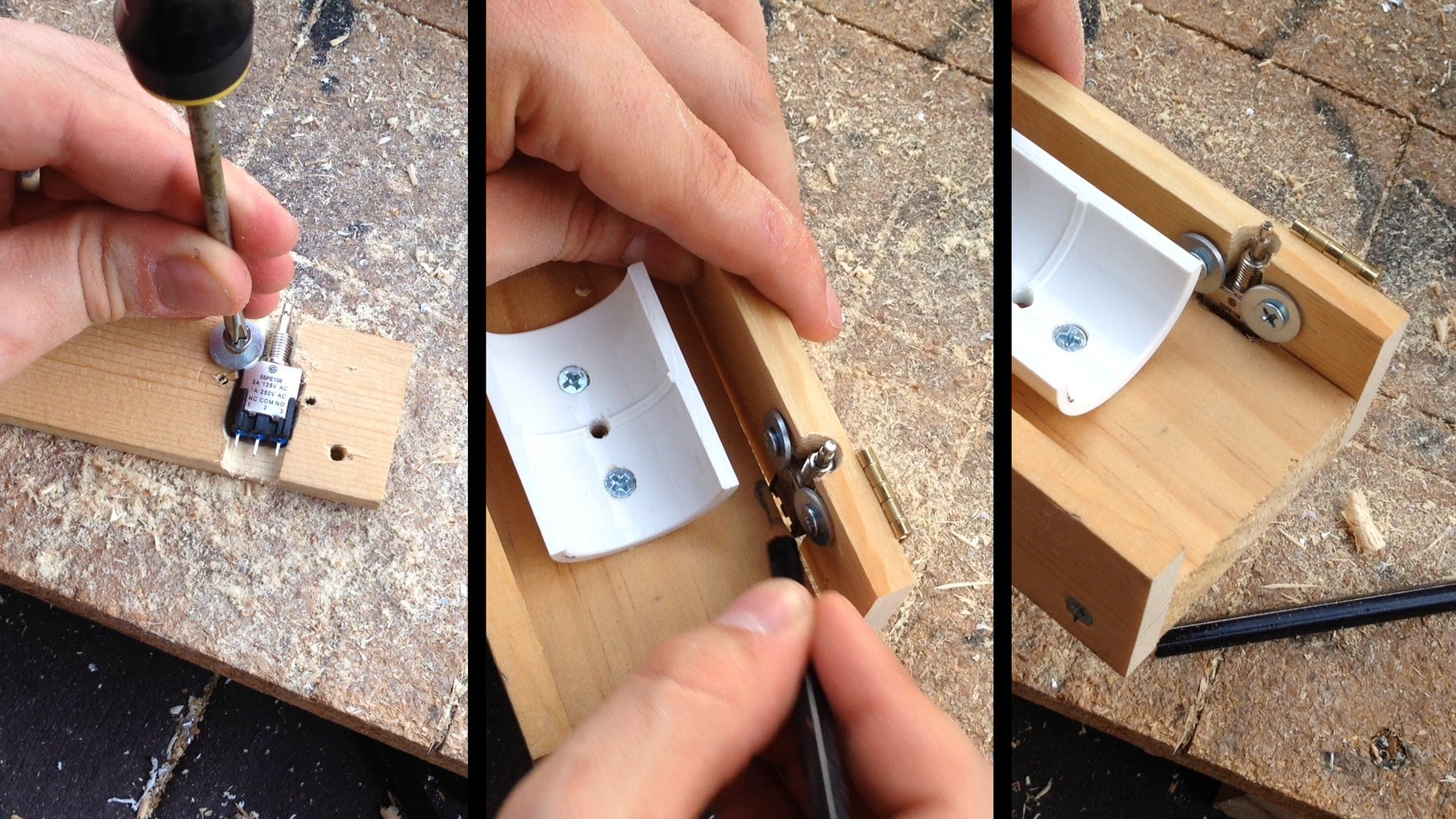 Mounting the Switch