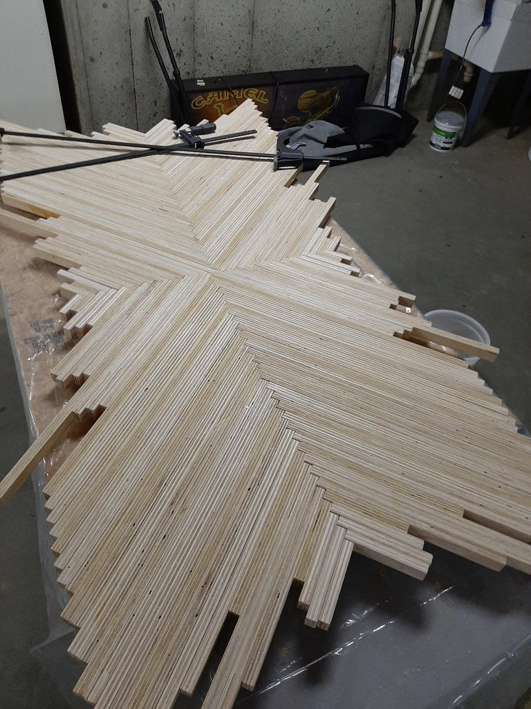 Arrange Strips in Pattern
