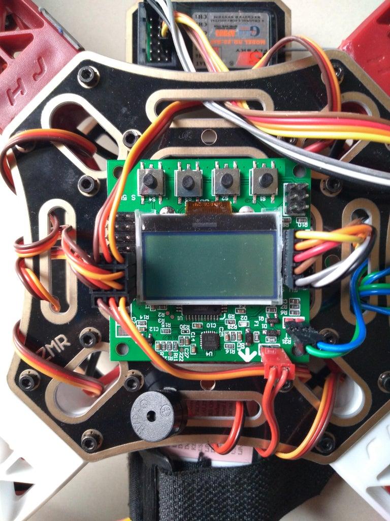 KK 2.1.5 Wiring & Propellor Setting