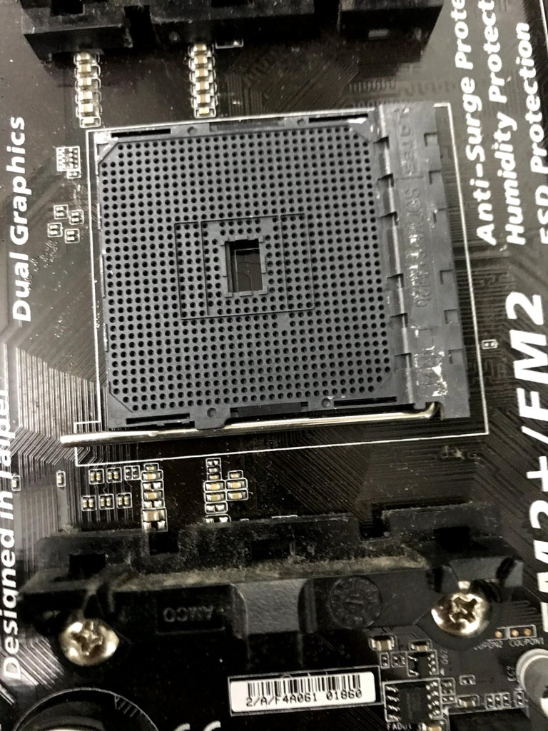 Put the Processor on the Motherboard