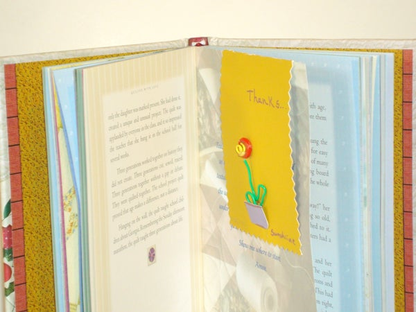 Magnetic Paper Clip Greeting Card and Book Marker