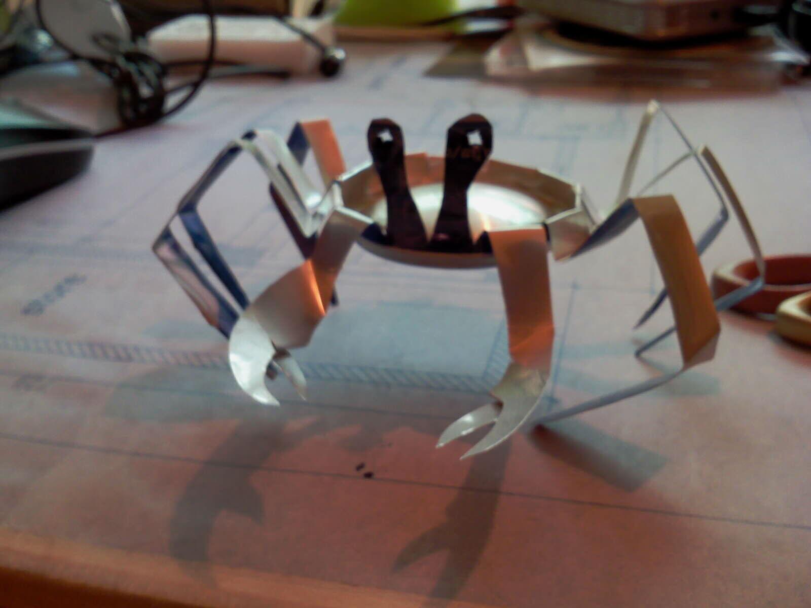 pepsi Can Crab
