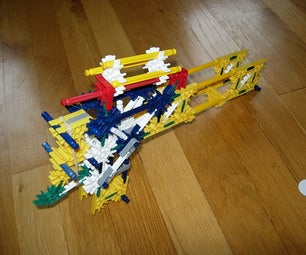 K'nex Rubberband Repeat Gun