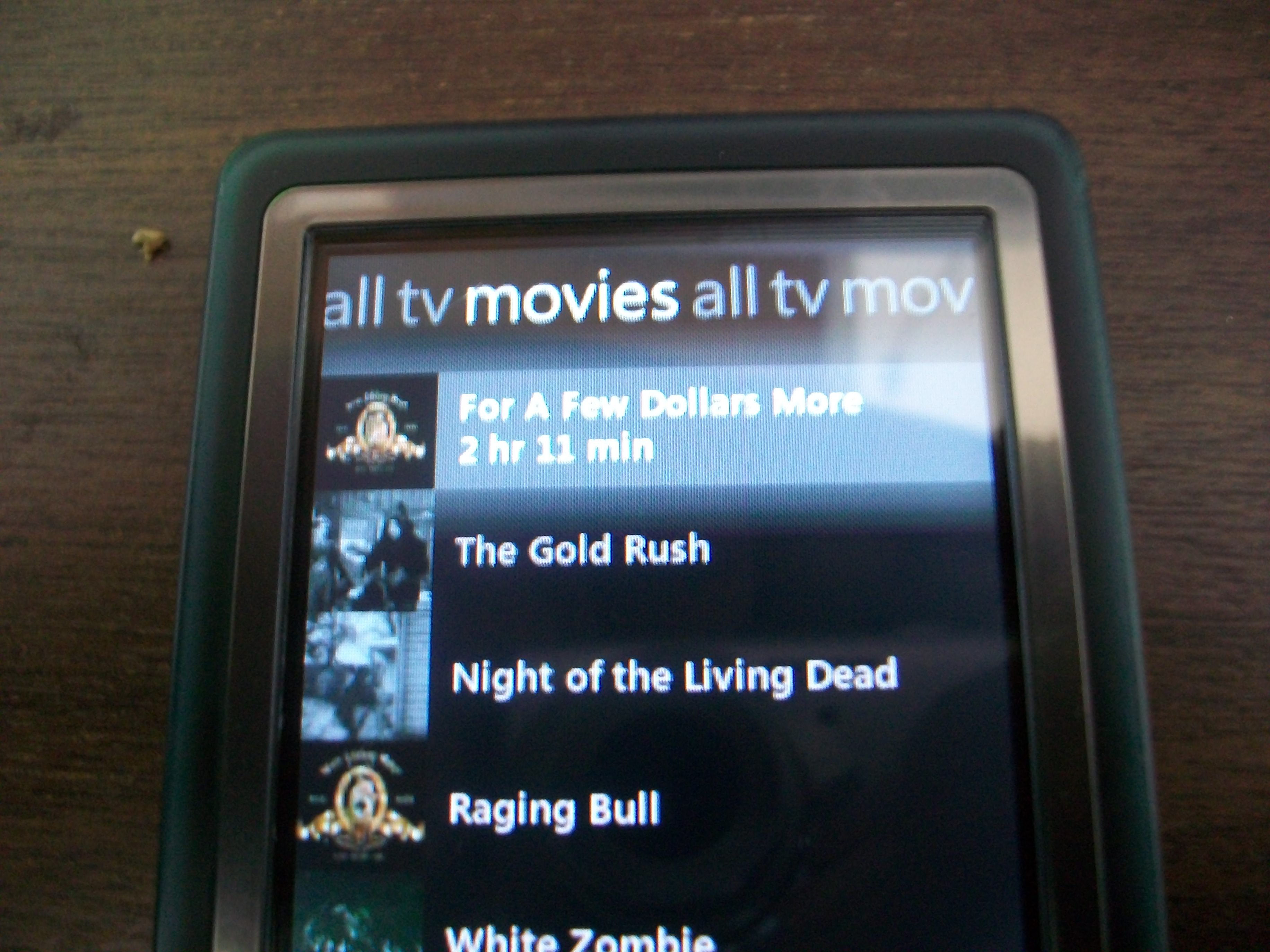Add DVDs to your Zune