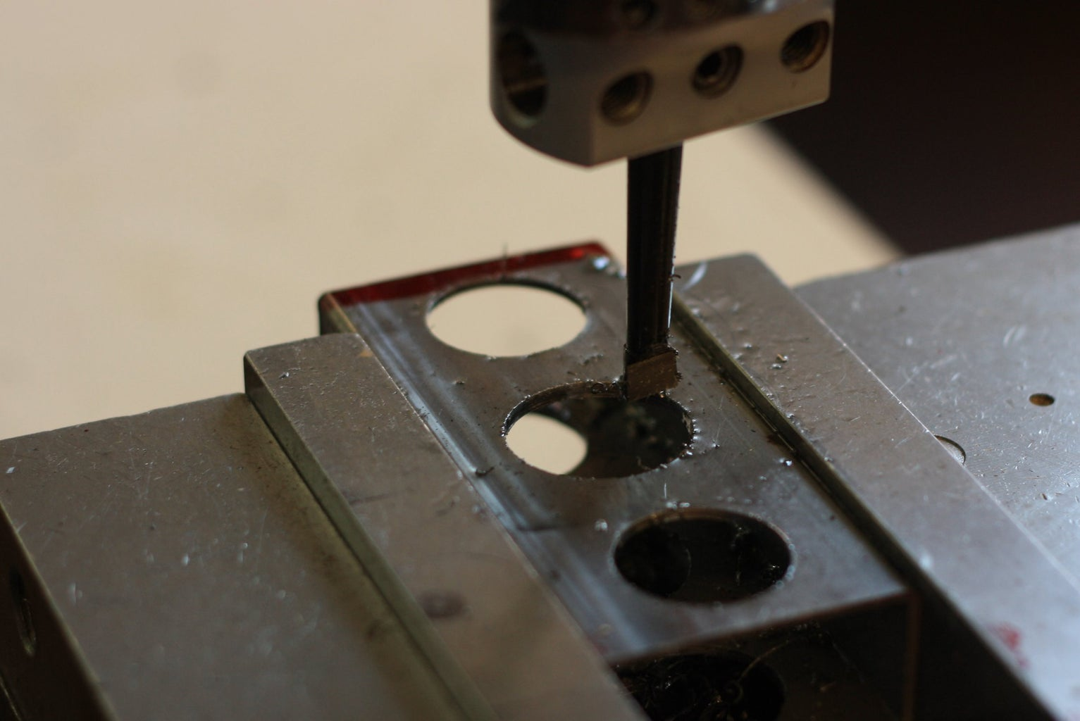 Cut Holes in the Rectangular Pieces