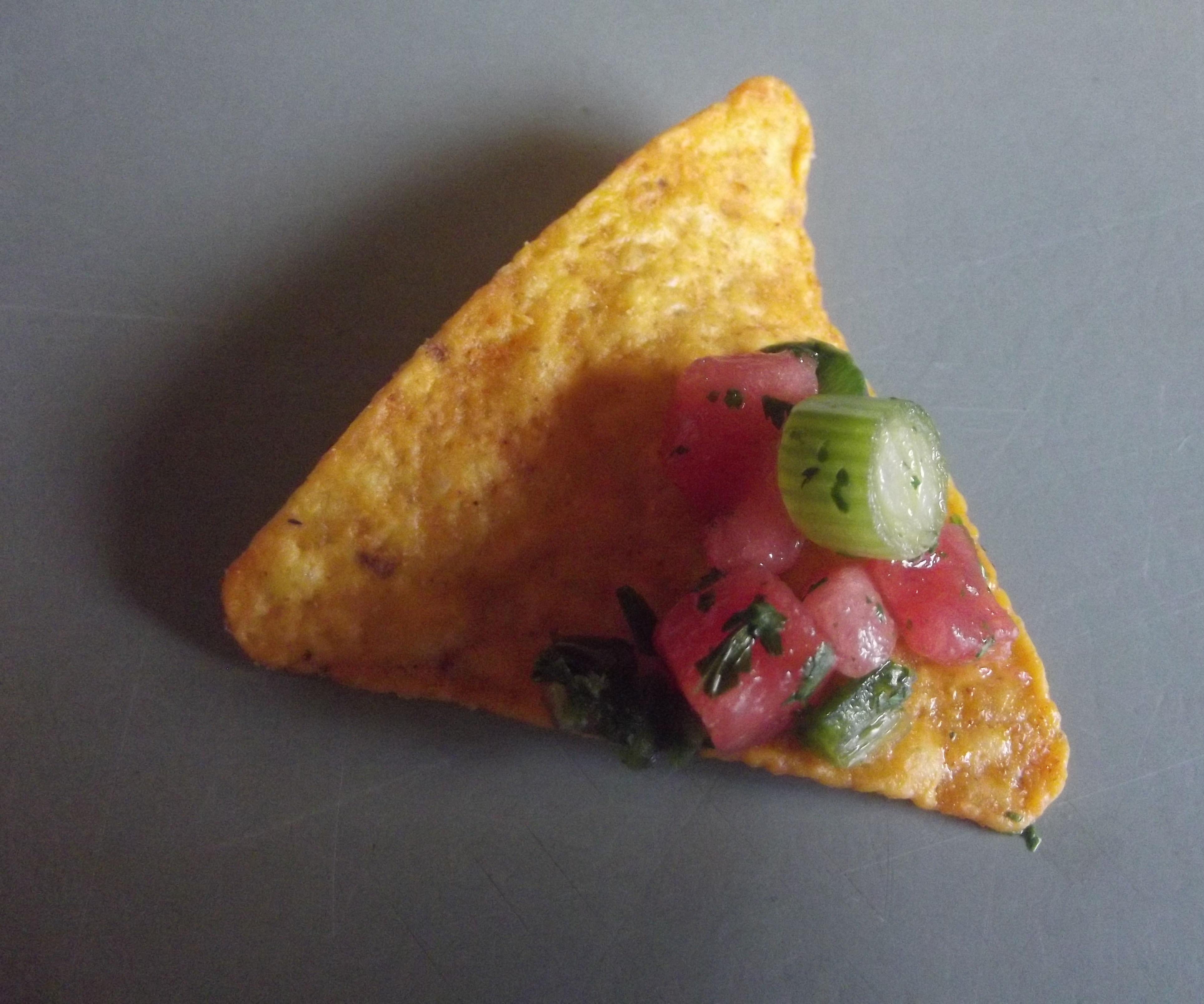 Watermelon Chervil Salsa
