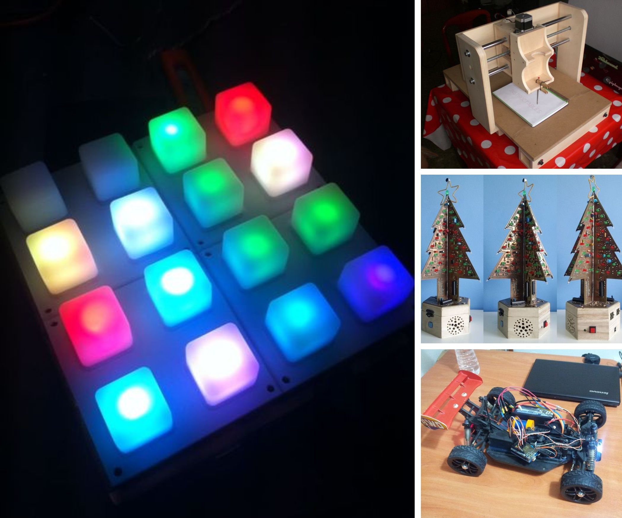 Creative Electronics student projects