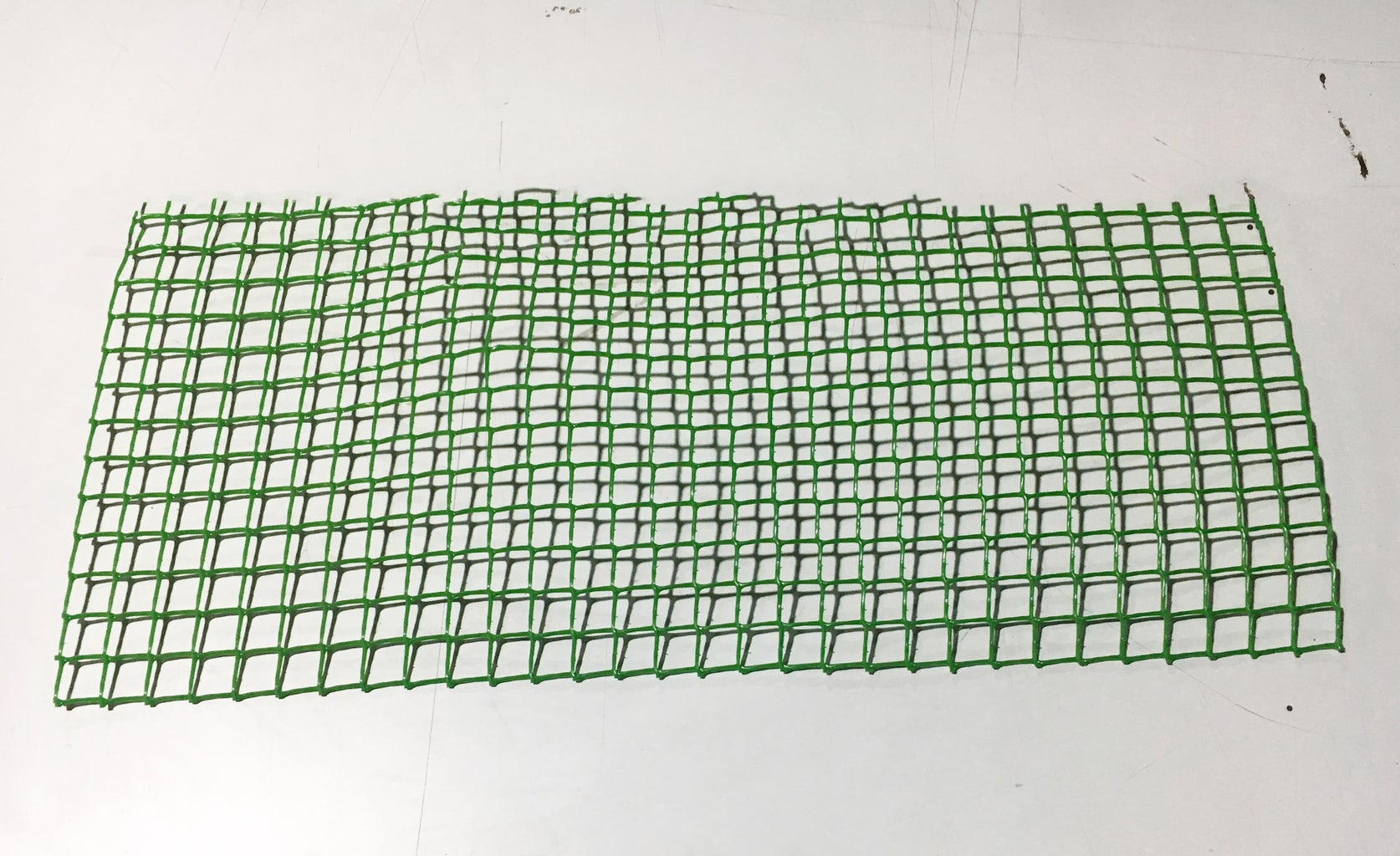 Cut the Mesh to Fit the Sides.