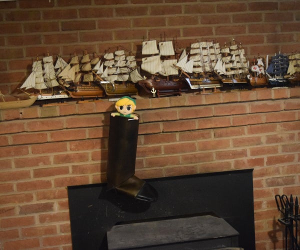 Leather Christmas Stocking