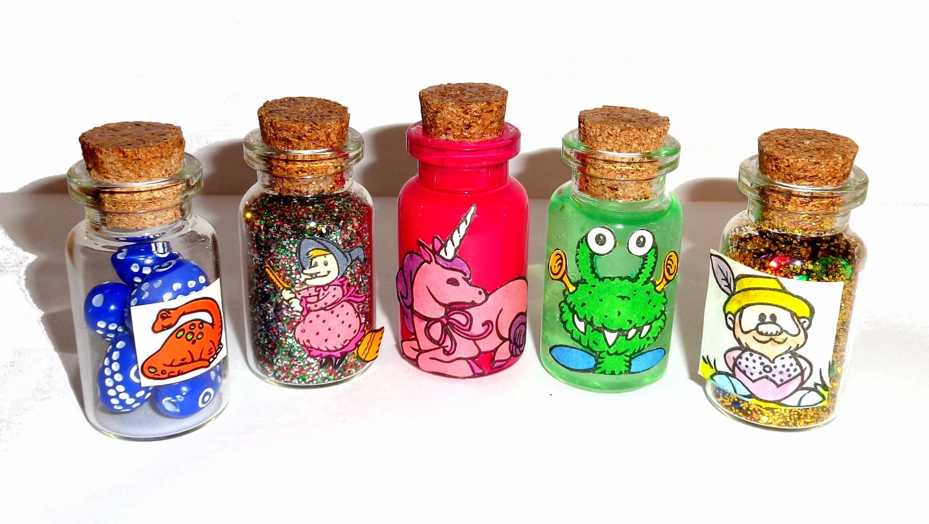 Halloween Bottle Charms