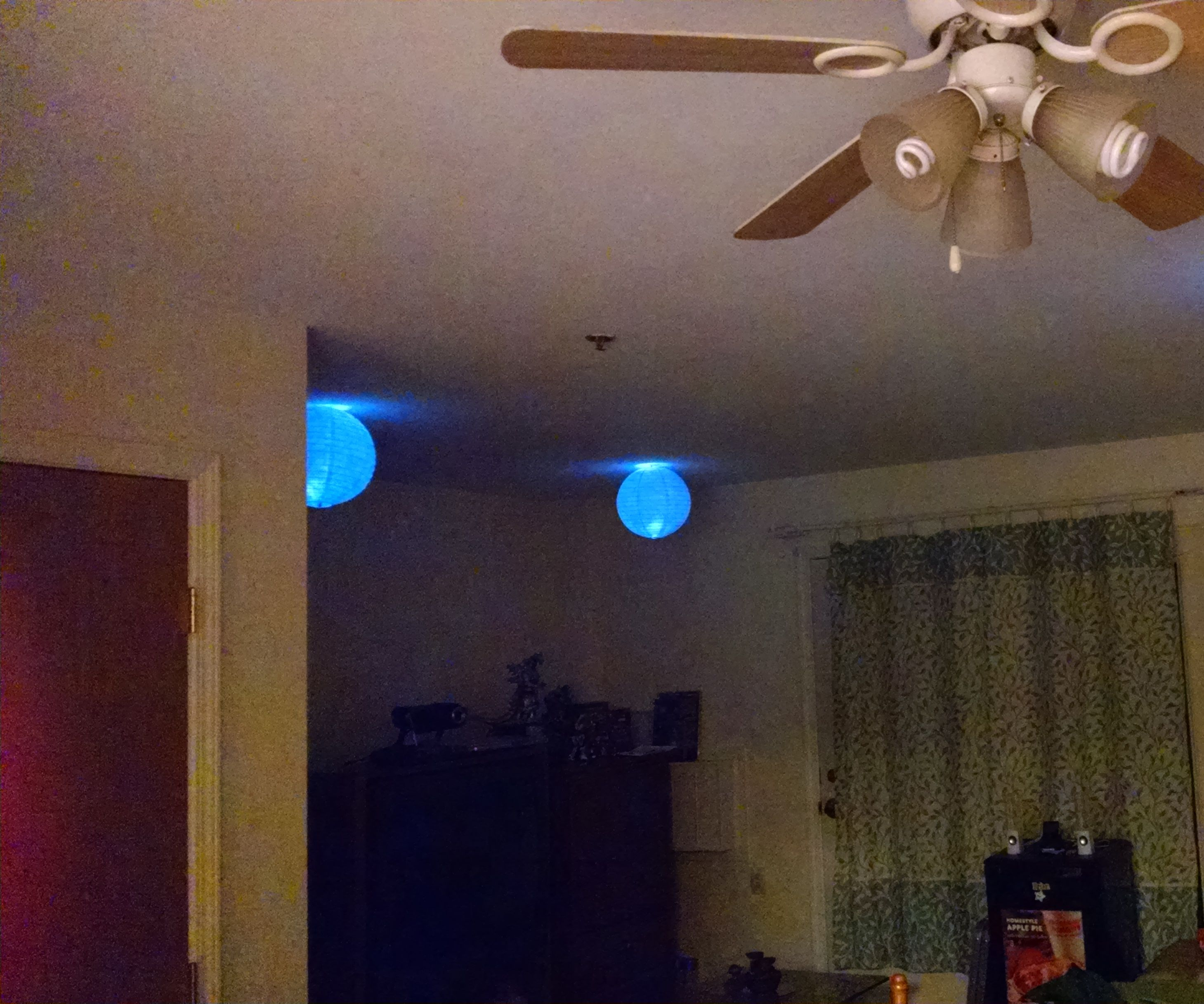 Japanese floating lights