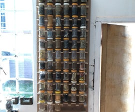 Plastic Jar Organizer