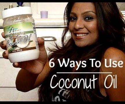 6 Benefits of Coconut Oil │ Hair, Skin, Eyes + More