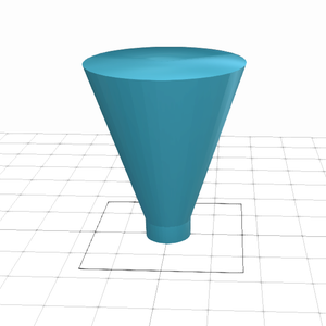 Simple Sprue Design Using SelfCAD