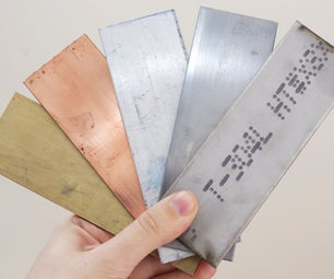 Metalworking Tools and Materials