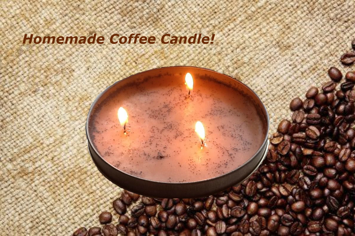 Homemade Coffee Candle 7 Steps With Pictures Instructables