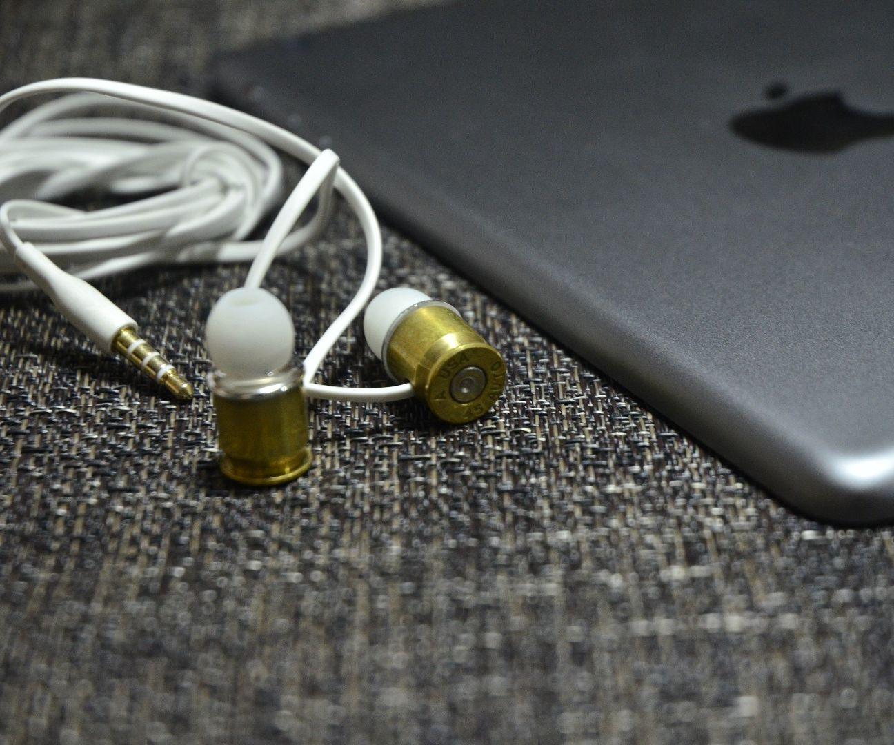 DIY .45 Caliber Earphone