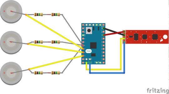 Connect IMU Sensor Stick to Arduino
