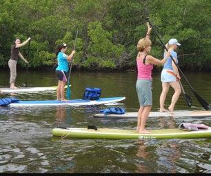 2x4 - Pallet - Medical Backboard : Made Into a Riverboard WakeBoard Longboard or Surfboard