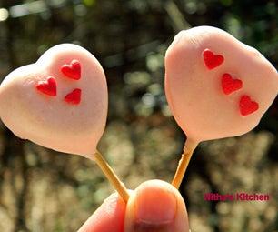 Heart in Heart Cake Pops