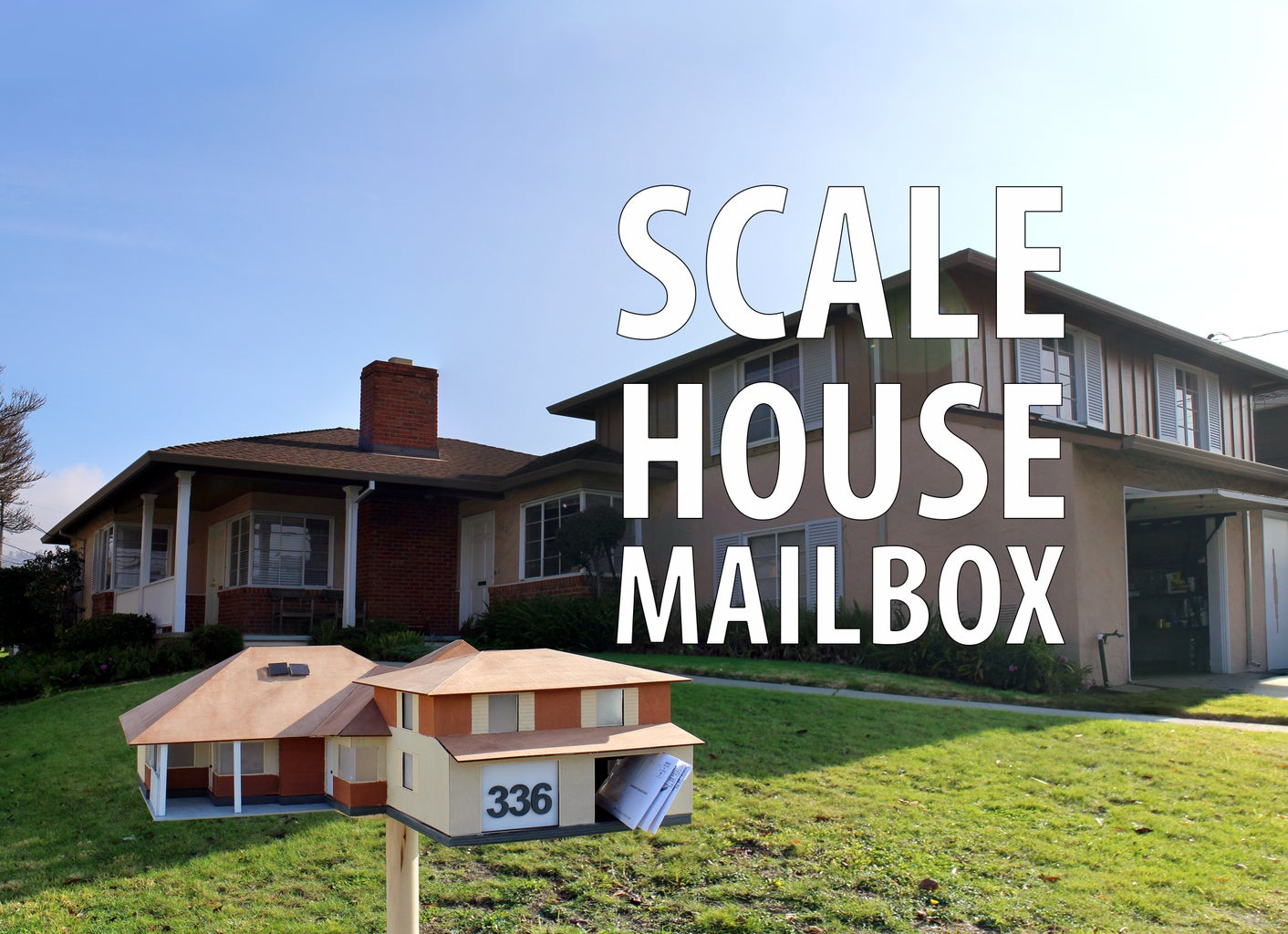 Scale House Mailbox