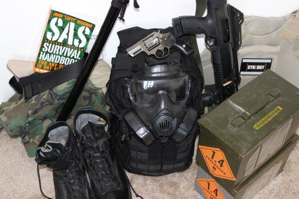 The Compact Zombie Apocalypse Bag