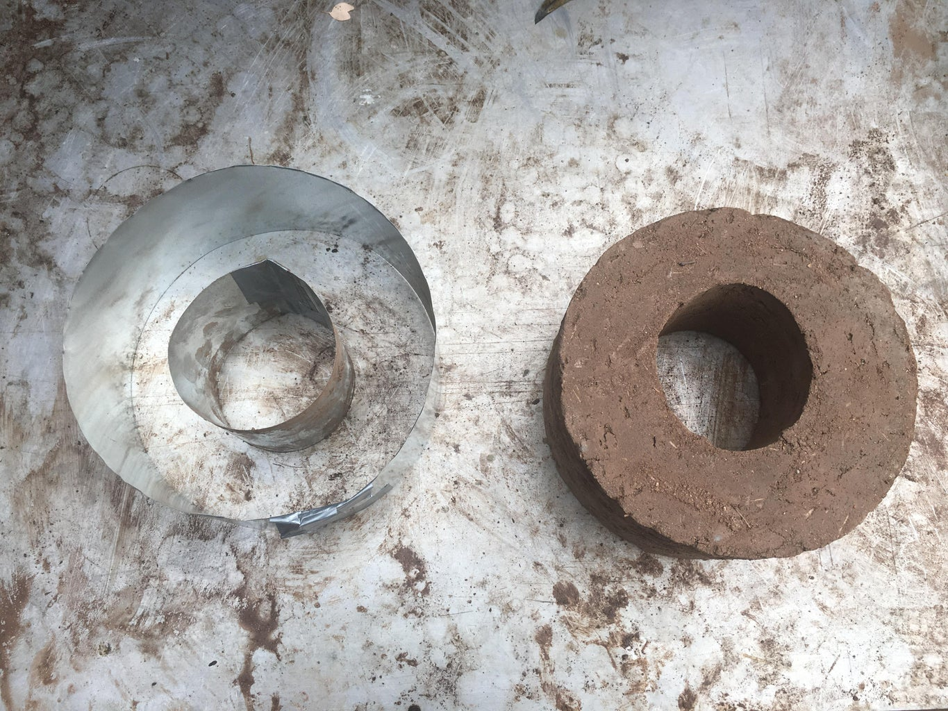 Building the Rocket Stove - Part 1 - Making Donuts