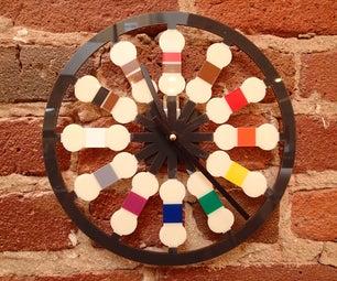 Resistor Color Code Clock