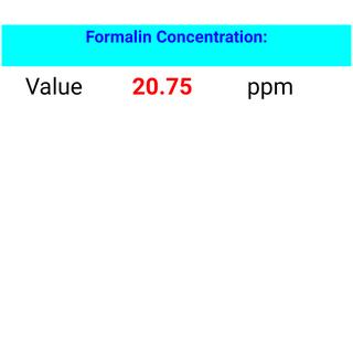 Simple Arduino Formaldehyde Sensor