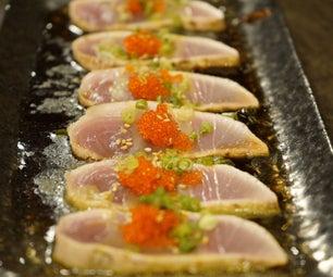 How to Make Seared Tuna Sashimi