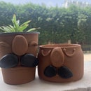 Cute Planters From Plastic Container