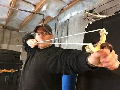 Powerful Laminated Wood Slingshot