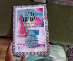 Valentines/Birthday Card