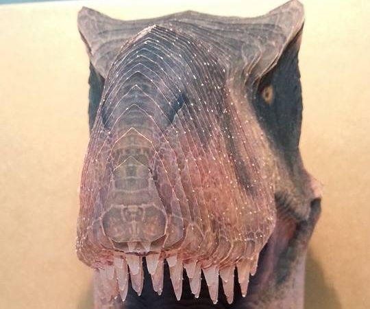 T-REX 3D Printedpaper Head
