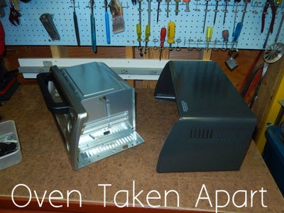 Take Apart the Toaster Oven