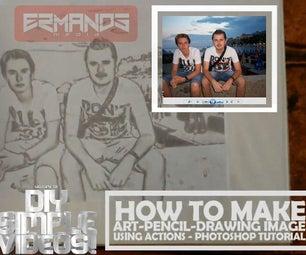 Make Art-pencil-drawing Image