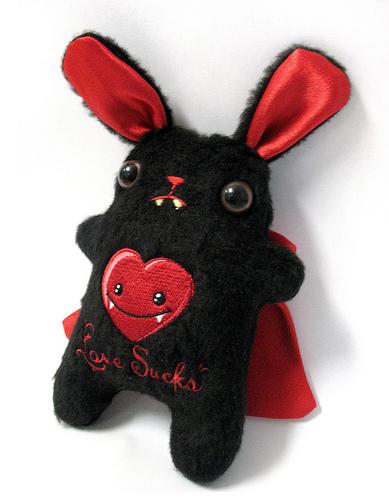 Vampire Bunny Plushie How-to!