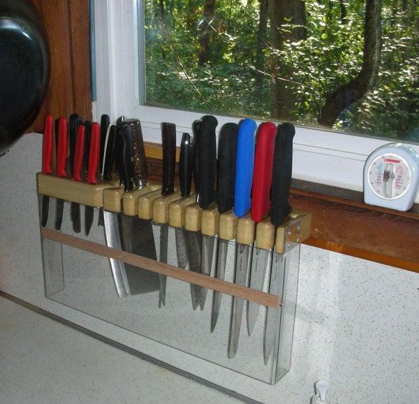 CULTRIVOR - Custom 30 Knife Block