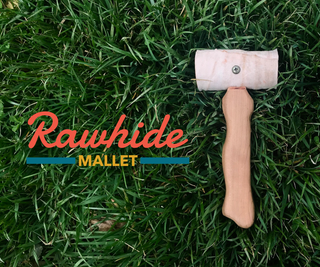 Rawhide Mallet From Dog Bone